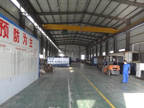 工厂车间常用什么清洁设备清洗地面图片